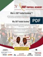 360 Football Academy Brochure