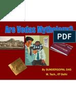 Are Vedas Mythology