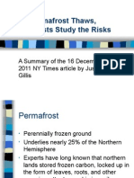 As Permafrost Thaws, Scientists Study the Risks