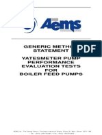 Boiler Feed Pump Typical Method Statement 3