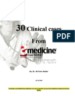 30 Clinical Cases From Emedicine