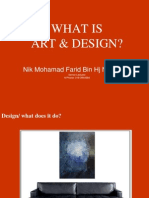 Lecture 001 What is Art Design
