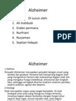 Alzheimer Keperawatan Dewasa II