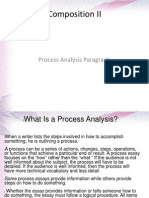 Composition II-Process Analysis