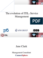 Jane Clark Evolution ITIL Service Management Presentation Sept07