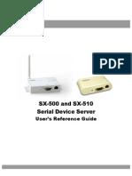 Manual Sx500 Eng