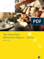 Aviva Real Retirement Report, March 2012