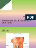 Pemeriksaan Kedokteran Nuklir Pada Tiroid
