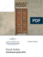 Saudi Arabia Investment Guide 2010