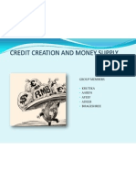 Credit Creation Ppt