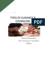 Edu on Types of Guidance