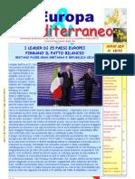 Europa & Mediterraneo n.10 Del 07-03-12