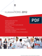 Catalogue GERESO Formations 2012