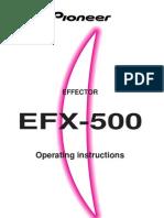 Pioneer EFX500