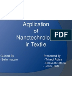 Application of Nanotechnology in Textile