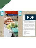 Sra002 Sra Food Waste Survey - Full Report
