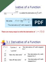 Kalkulus 03-Derivat