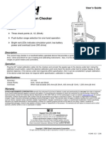 Test Equipmentshop.com Calibrators 412440 S Calibration Source Checker2