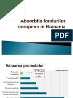 Absorbtia Fondurilor Europene in Romania