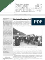Montaner Dorfblatt November 2008
