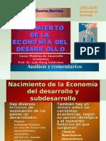 NACIMIENTO DE LA ECONOMÍA DEL DESARROLLO_presentación