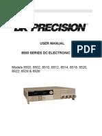 Testequipmentshop.com Lab Test Equipment Programmable DC Electronic Load 0.6Kw TES 8510 Manual
