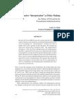 "Administrative ""Interpretation"" as Policy-Making"