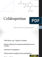 Cefalosporinas carmen