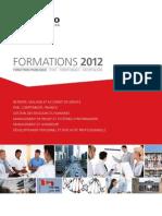 Catalogue GERESO Formations Fonction Publique 2012