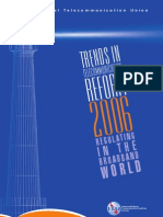 ITU-Trends in Telecommunication Reform 2006