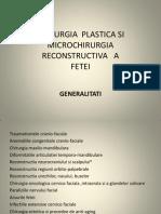 Chirurgia Plastica Si Microchirurgia Reconstructiva A