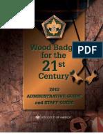 Wood Badge 2011 Admin Guide and Syllabus