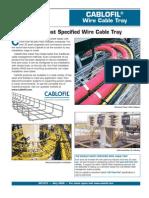 Cablofil Wire Cable Tray Technical