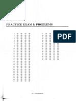 Seismic Principles Practice Exams