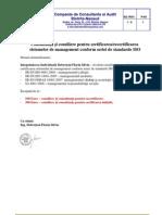 Consultant A Certificare Recertificare ISO