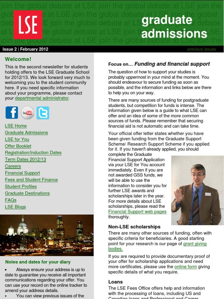 02 Feb | London School Of Economics | Postgraduate Education