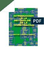 Introduccion a La Metodologia de La Investigacion Hector Avila Baray