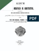 1846 M Fornes Gurrea Album Proyectos Origin Ales