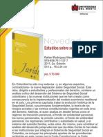 Estudios sobre seguridad social 2a. Ed