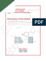 Pharmacology of Ergot Alkaloids