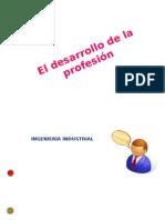 El desarrollo de la profesión