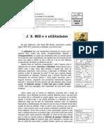 J. S. Mill e o Utilitarismo