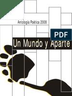 Antología Poética 2008 Un Mundo Y aparte