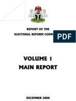 Electoral Reform Committee Report 2008