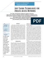 Network Energy Saving Technologies for Green Wireless Access Networks