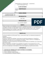 Handebol  Plano de Ensino 2010