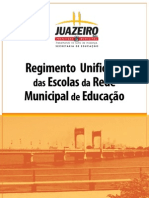 Regimento Unificado Escolas Municipais