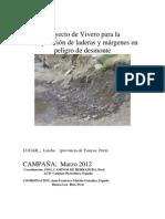Viveros y Reforestacion LINCHA 2012