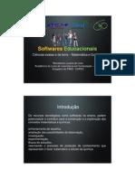 Softwares educacionais - Ciências exatas e da terra