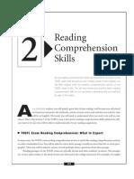 TOEFL Reading Strategies